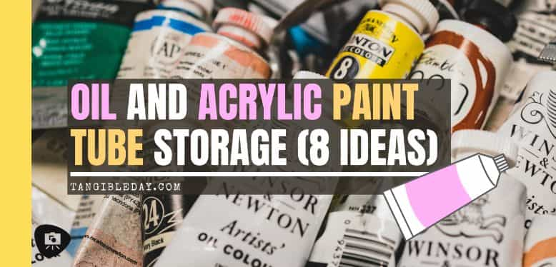 banner - best paint tube storage racks and displays - how to store paint tubes