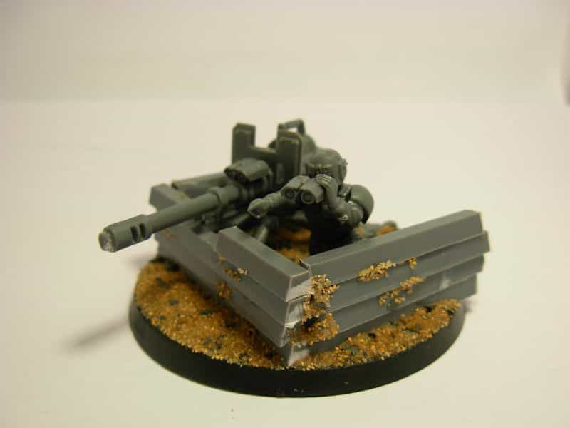 9 Recycling Ideas for Old Sprues from Warhammer and Model Kits - sprue terrain with Warhammer 40k kits – recycling Warhammer sprues – sprue walls and base material
