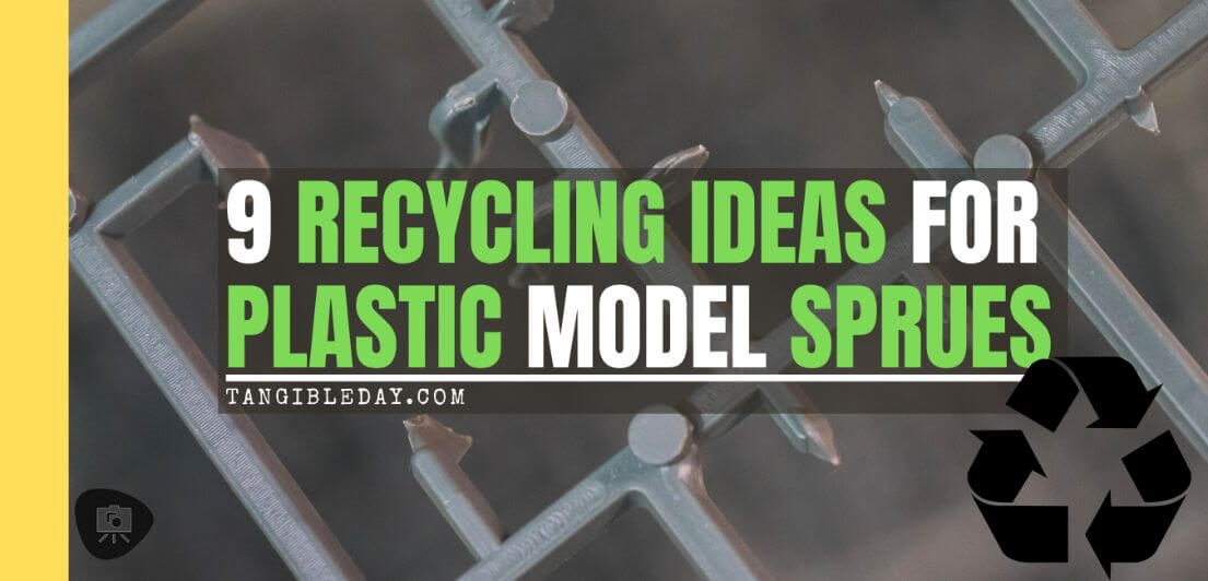 9 Recycling Ideas for Old Sprues from Warhammer and Model Kits – sprue terrain – sprue goo putty – plastic card from old sprue – terrain sprue with Warhammer 40k kits – recycling Warhammer sprues – what do to with empty sprues – banner image