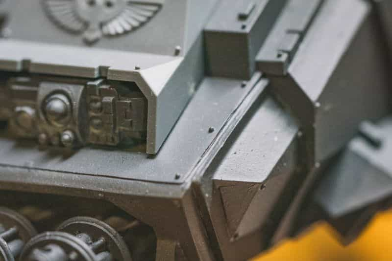 Top 3 Mistakes To Avoid When Priming Miniatures and Solutions -  tips for resolving and fixing primer issues on models - details on vehicle model