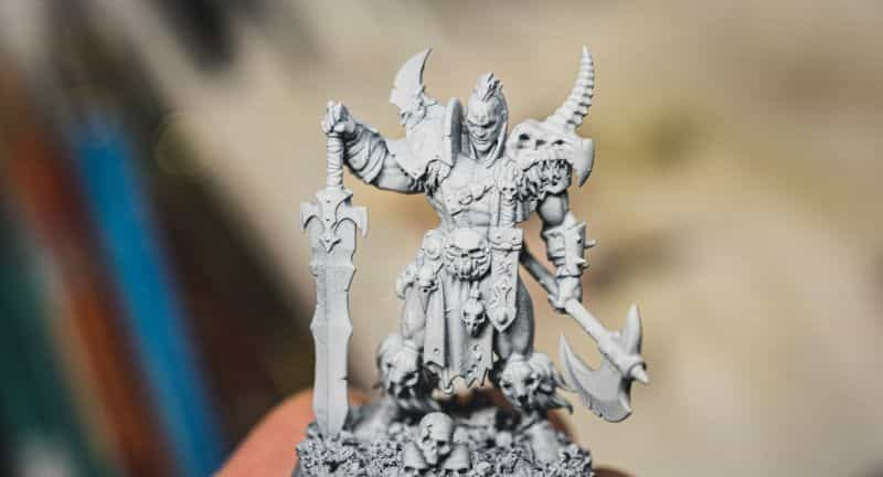 Top 3 Mistakes To Avoid When Priming Miniatures and Solutions -  tips for resolving and fixing primer issues on models - age of sigmar thin primer