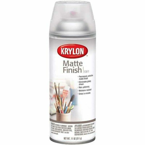 Matt vs gloss varnishes for miniatures? - satin vs matte varnish miniatures - stain vs gloss varnish miniatures - krylon varnish spray aerosol