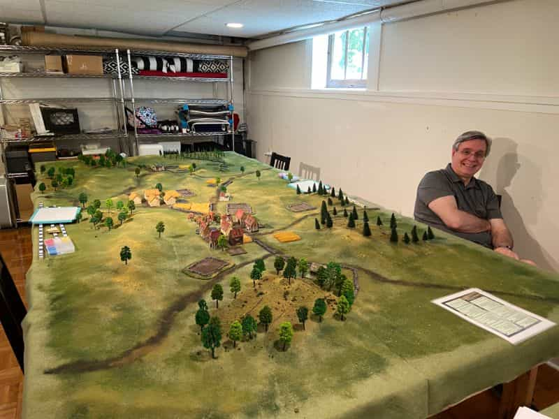 Best historical wargame for tabletop gamers - Carnage and Glory II miniature tabletop wargame - tactical miniature wargaming - best historical miniature wargame - Carnage and Glory Gameplay Review - nigel marsh creator