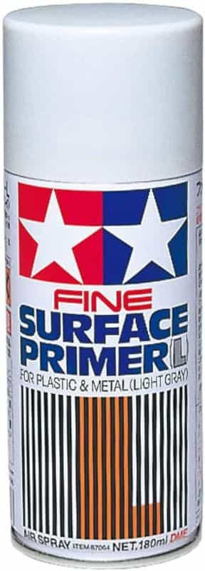 7 Best Spray Primers for Miniatures and Models (Review and Recommendation) - best spray primer for painting miniatures and models - spray priming miniatures - recommended spray primers for scale model hobbies - tamiya spray surface primer for modelling hobbies