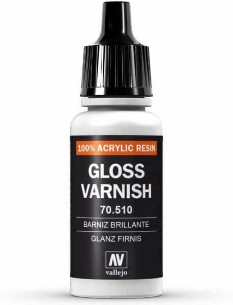 Matt vs gloss varnishes for miniatures? - satin vs matte varnish miniatures - stain vs gloss varnish miniatures - vallejo gloss varnish