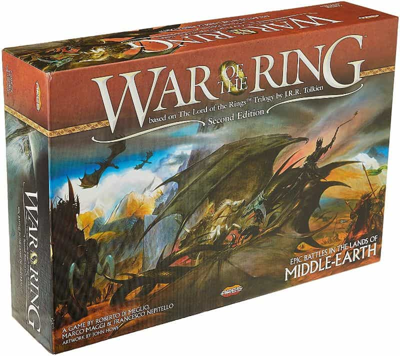 War of the Ring 2nd Edition Board Game Review - Lord of the Ring games - box art