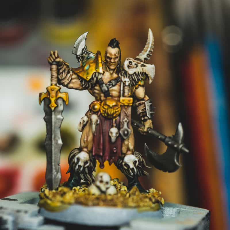 7 Best Spray Primer for Miniatures and Models (Review and Recommendation) - best spray primer for painting miniatures and models - spray priming miniatures - recommended spray primers for scale model hobbies - barbarian painted and primed
