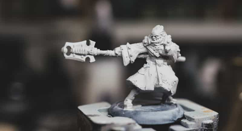 Brush on primer for miniatures how to - how to use brush on surface primer for models - priming miniatures and models with a brush - tutorial for brushing on primer for miniatures without losing detail - banner