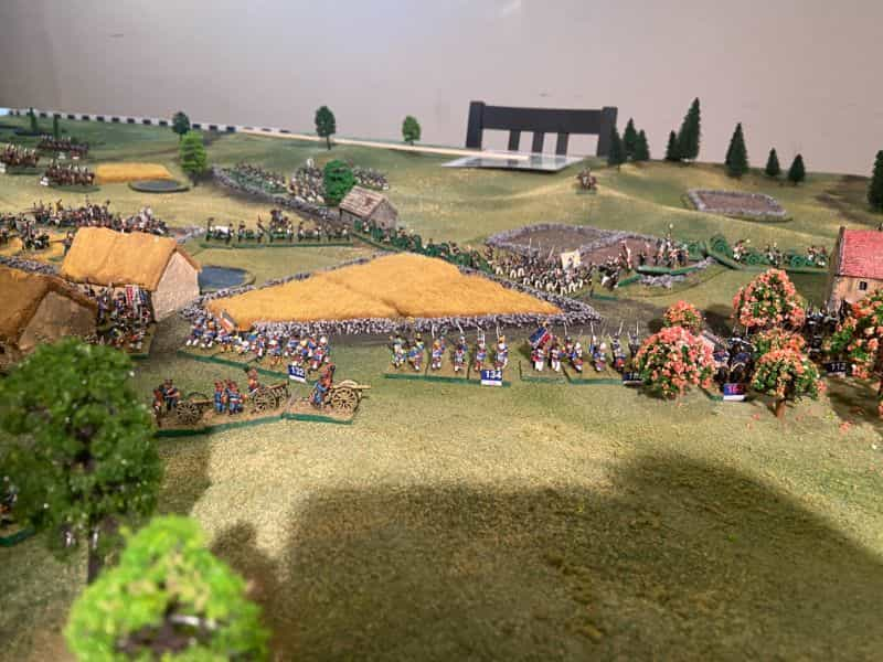 Best historical wargame for tabletop gamers - Carnage and Glory II miniature tabletop wargame - tactical miniature wargaming - best historical miniature wargame - Carnage and Glory Gameplay Review - gameplay progress