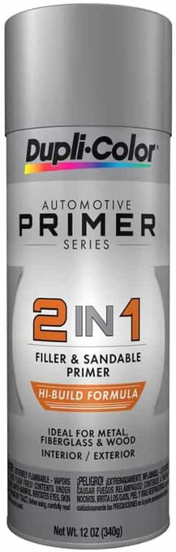7 Best Spray Primers for Miniatures and Models (Review and Recommendation) - best spray primer for painting miniatures and models - spray priming miniatures - recommended spray primers for scale model hobbies - duplicolor 2 in 1 primer for minis