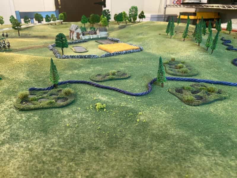 Best historical wargame for tabletop gamers - Carnage and Glory II miniature tabletop wargame - tactical miniature wargaming - best historical miniature wargame - Carnage and Glory Gameplay Review - rope on terrain