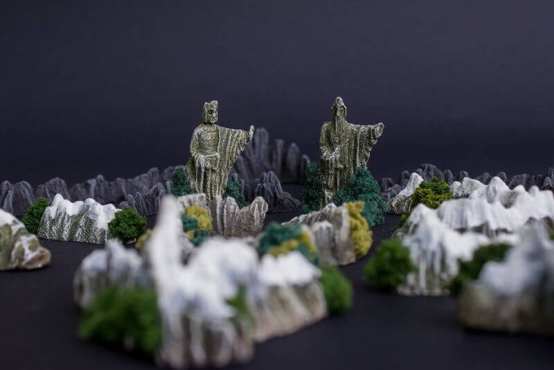 War of the Ring 2nd Edition Board Game Review - Lord of the Ring games - resin terrain on Etsy