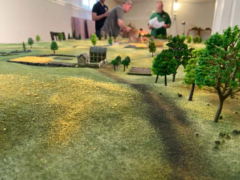 Best historical wargame for tabletop gamers - Carnage and Glory II miniature tabletop wargame - tactical miniature wargaming - best historical miniature wargame - Carnage and Glory Gameplay Review - follow the road view low