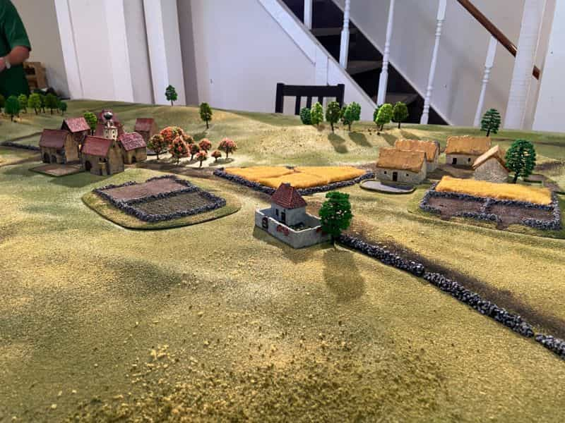 Best historical wargame for tabletop gamers - Carnage and Glory II miniature tabletop wargame - tactical miniature wargaming - best historical miniature wargame - Carnage and Glory Gameplay Review - miniature terrain on the battlefield