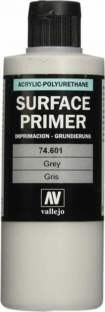 7 Best Spray Primers for Miniatures and Models (Review and Recommendation) - best spray primer for painting miniatures and models - spray priming miniatures - recommended spray primers for scale model hobbies - vallejo surface primer