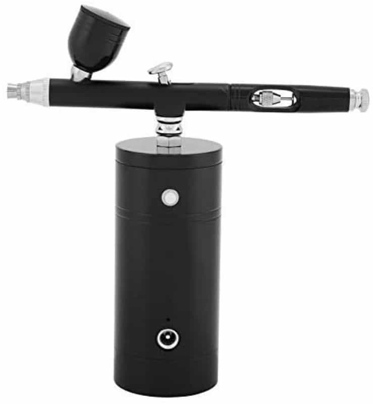 Is a Portable Airbrush Any Good for Painting Miniatures? (Review and Commentary) - portable airbrush for miniatures - best cordless airbrush - battery powered airbrush - mini-compressor for traveling with an airbrush - mini compact air compressor