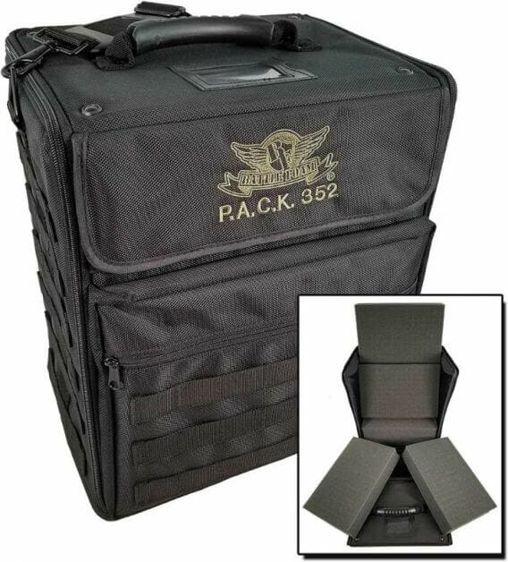 Here are 10 recommended miniature transport bags and cases  - Best army transport bag and case - wargaming miniatures model transportation and storage systems - Best foam transport painted miniature storage and travel bags and cases review - Battle Foam P.A.C.K. 352 Pluck Foam Load Out Miniatures Case