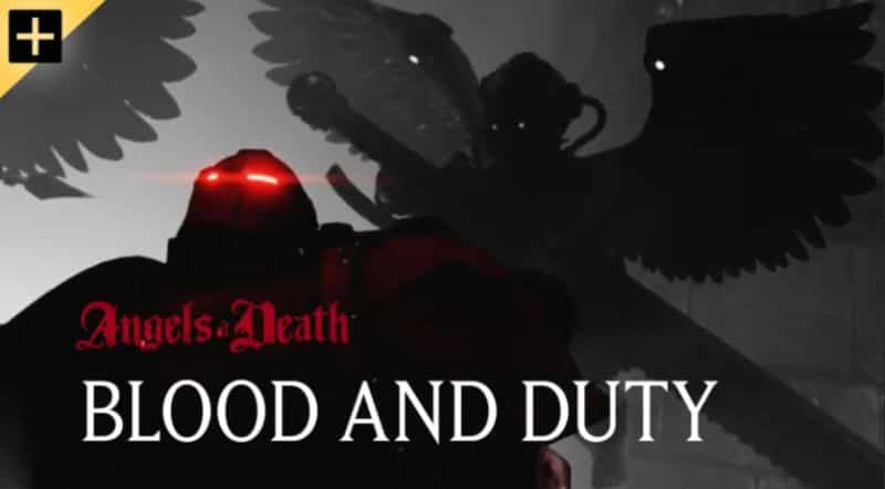"""Warhammer+ Review: """"Angels of Death"""" Episode 1 - Warhammer TV review - blood angels"""