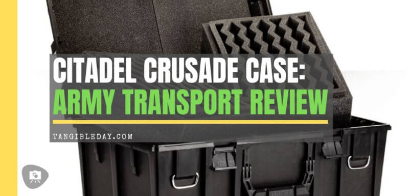 Here are 10 recommended miniature transport bags and cases  - Best army transport bag and case - wargaming miniatures model transportation and storage systems - Best foam transport painted miniature storage and travel bags and cases review - crusade case review