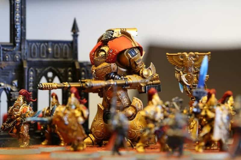 """5 Ways to Avoid Boring """"Hobby"""" Photography - how to be a better hobby photographer - photography for hobbyists - scale modeling photography - How to take better photos of miniatures - warhammer 40k. low and close up photo"""