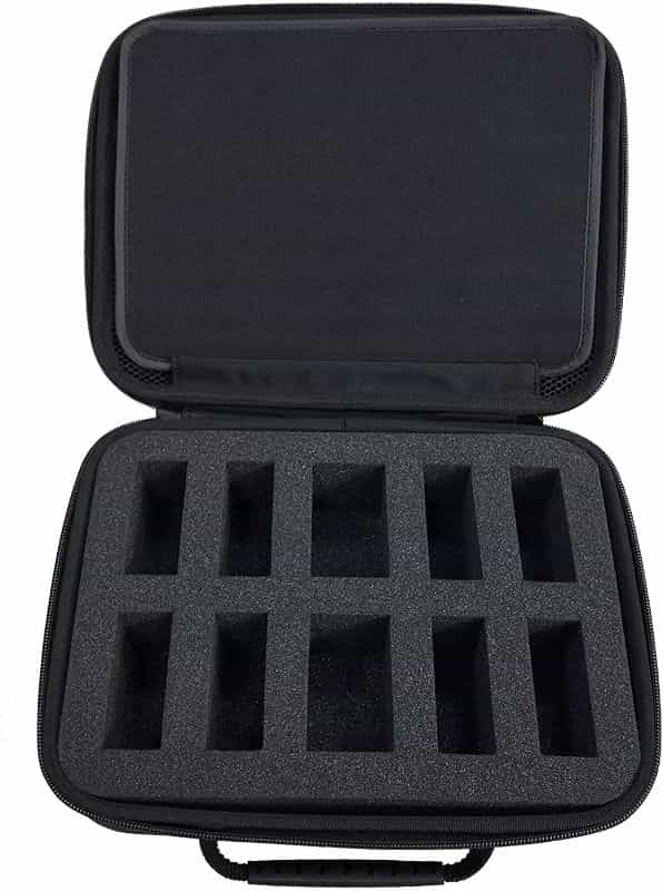 11 Best D&D Miniature Carrying Cases and Storage Options - best carrying cases for rpg miniatures - dnd miniature carry cases - DnD miniature transport case for gamers - minifigure case