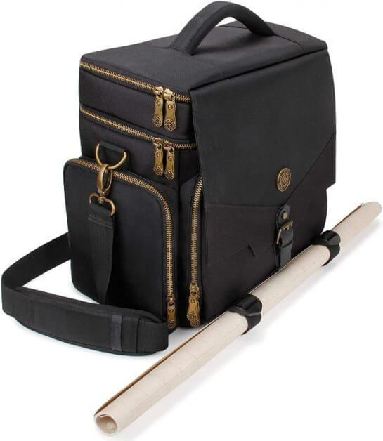 13 Best Bags for Dungeons and Dragons and RPGs - Best bag for RPG books - dungeons and dragons bag - rpg backpack - enhance tabletop rpg adventurer's dnd bag