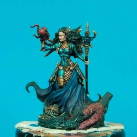 Tips for Reducing Eye Strain While Painting Miniatures (Solutions) - prevent eye strain - eye pain while miniature painting - kraken princess