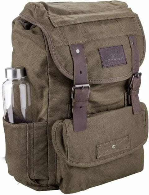 13 Best Bags for Dungeons and Dragons and RPGs - Best bag for RPG books - dungeons and dragons bag - rpg backpack - Waterproof waxed canvas backpack