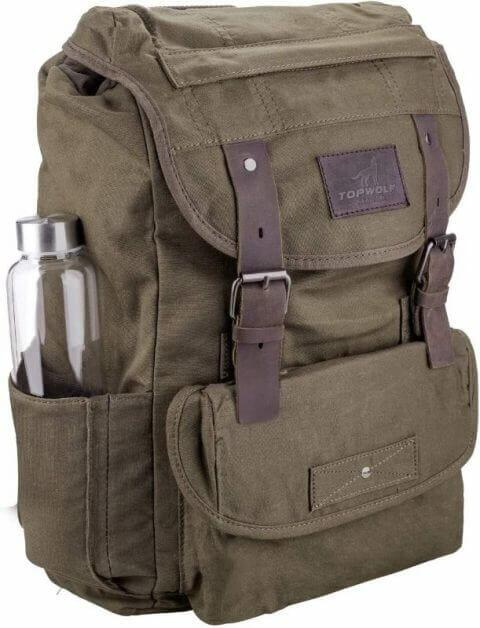 Waterproof Waxed Canvas Backpack