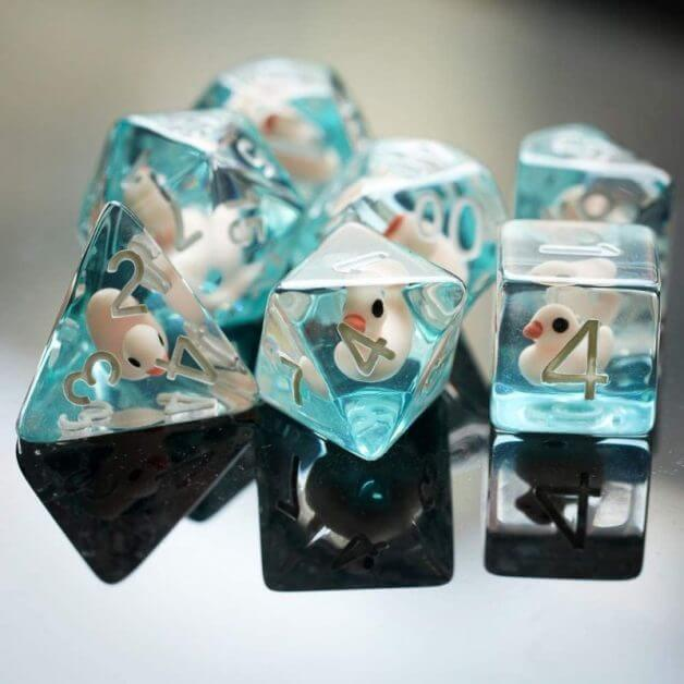 The Best D&D Dice Sets for Every Budget: 15 Cool Dice for RPGs - cool dnd dice - d20 dice for RPGs - best dice for D&D - dice for dungeons and dragons - cute dnd cool dice