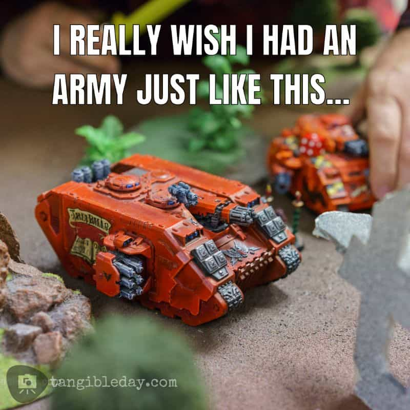 """Warhammer+ Review: """"Angels of Death"""" Episode 1 - Warhammer TV review - blood angel army meme"""