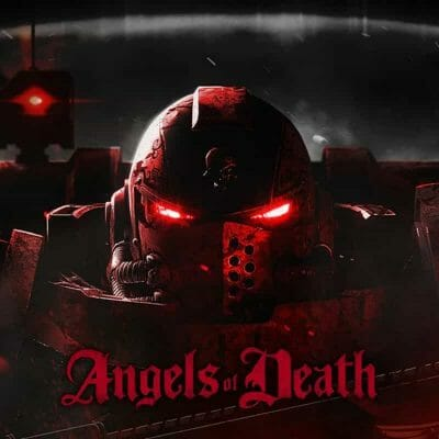 """Angels of Death Warhammer TV Review (Episode 2: """"The Silent City"""") - blood angel space marines - warhammer plus and warhammer TV - blood angels portrait"""