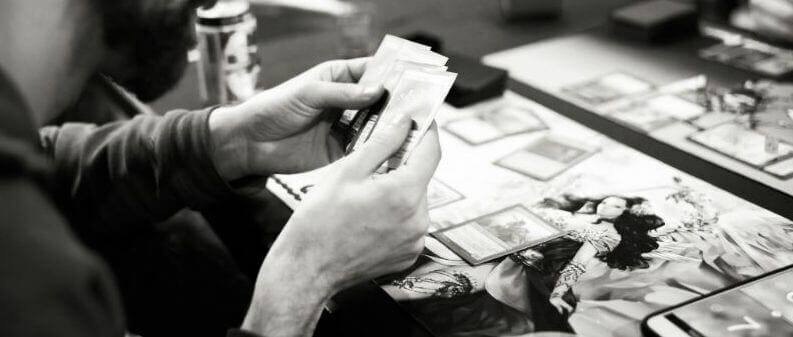 How Tabletop Miniature Gaming Can Help with PTSD - PTSD and tabletop games - wargames and PTSD - the benefits of tabletop games and boardgames for PTSD sufferers - card game playing magic the gathering