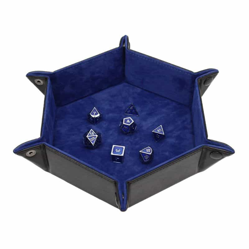 Best Dice Rolling Surface Materials for Quieter Dice Trays (Ideas) - best dice rolling material - dice tray material ideas - dampening materials for dice trays - velvet or leather
