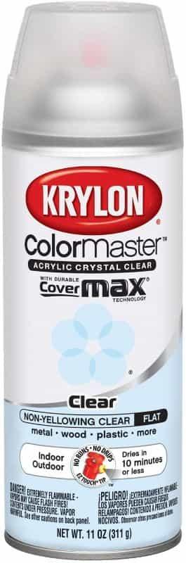 kyrlon flat clear coat
