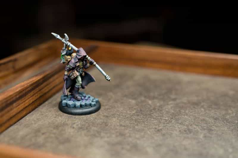 Best Dice Rolling Surface Materials for Quieter Dice Trays (Ideas) - best dice rolling material - dice tray material ideas - dampening materials for dice trays - grymkin horde model