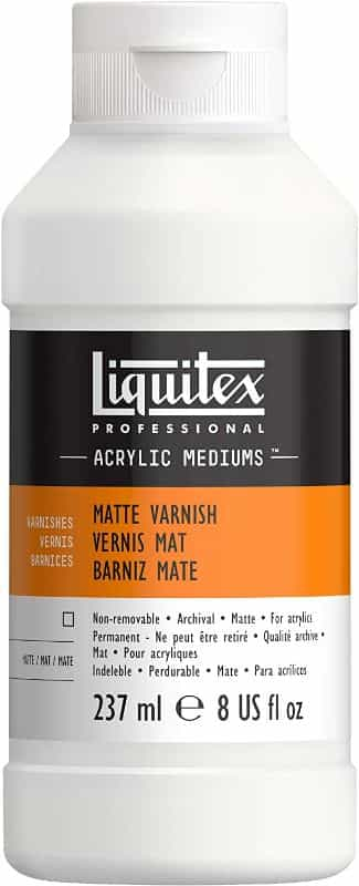 liquitex matte varnish