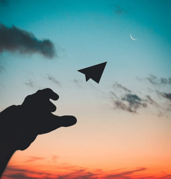 33 Reasons You Need To Take Photography, Seriously - personal reasons for photography - why photography - hobby photography -silhouette photo of man throw paper plane