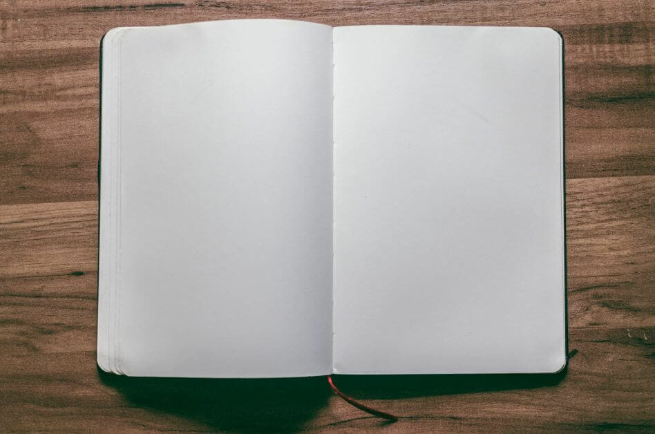 33 Reasons You Need To Take Photography, Seriously - personal reasons for photography - why photography - hobby photography -notebook with blank pages
