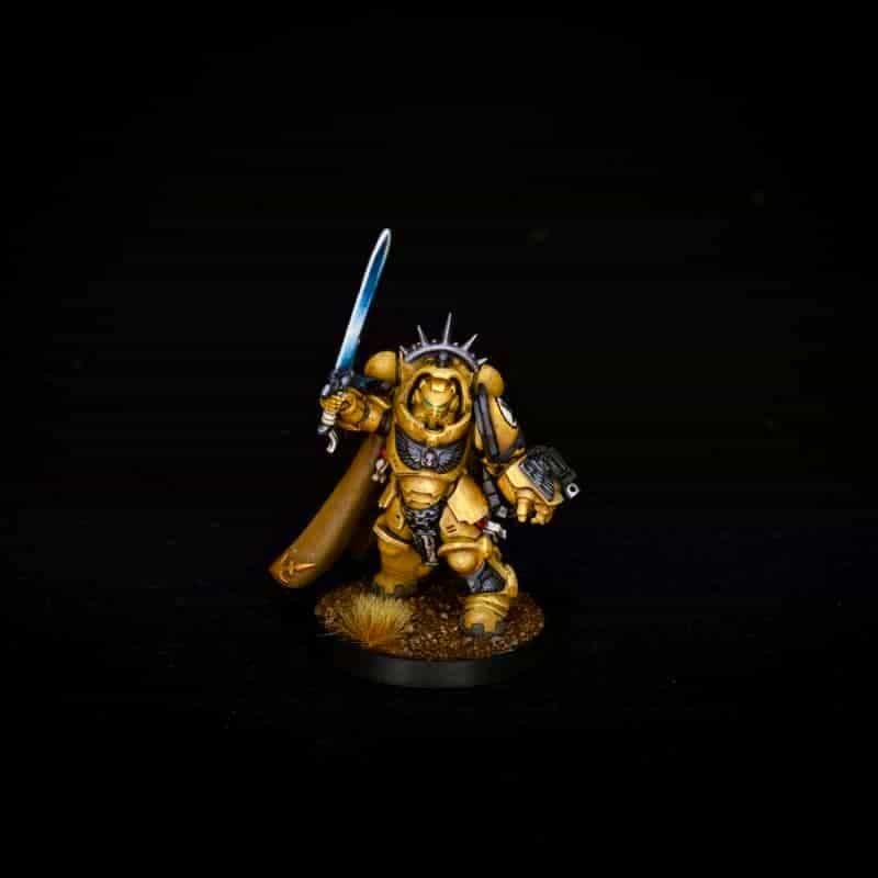 How to Photograph Miniatures with a Black Background (Guide) - how to capture miniature photos with pure black backdrops - infinite black backgrounds in miniature and model photography - guide for pure black background miniature photography - final digital camera image