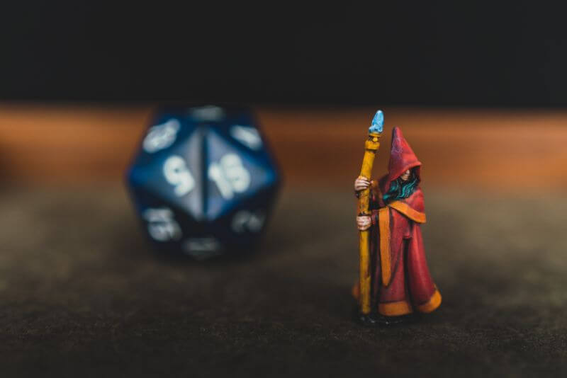 Spell Casters with Attitude: sorcerer (RPG Tips) - overview of the TTRPG sorcerer class - how to play a sorcerer rpg spellcaster - D20 mage miniature