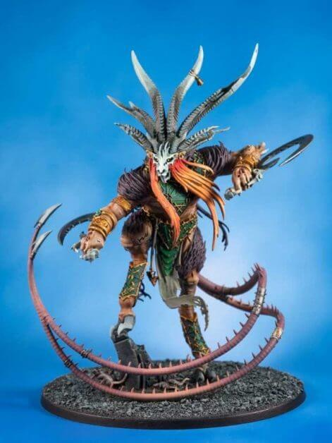 The Best Sealers for Miniatures and Models: Tips, Tricks, Reviews - miniature sealer - painted model sealer - best sealer for painted miniatures - skaven verminlord varnishes and sealed