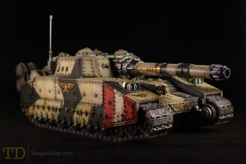 Best Lightbox for Miniature and Model Photography (Top 5 Reviewed and Tips) - shadowsword tank imperial guard - astra militarium