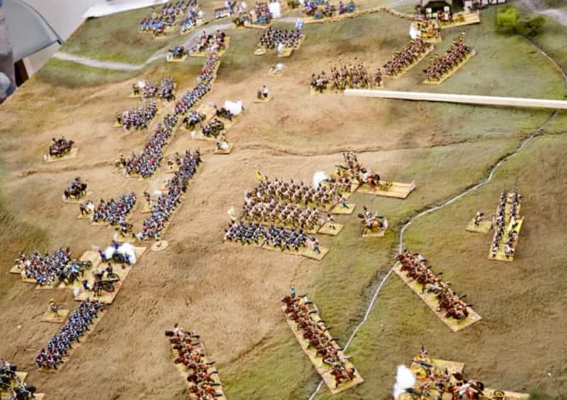 """5 Ways to Avoid Boring """"Hobby"""" Photography - how to be a better hobby photographer - photography for hobbyists - scale modeling photography - How to take better photos of miniatures - raise your perspective - carnage 2 historical gaming"""