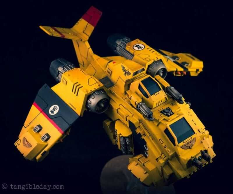 Best Lightbox for Miniature and Model Photography (Top 5 Reviewed and Tips) - imperial fist space marine warhammer 40k storm raven