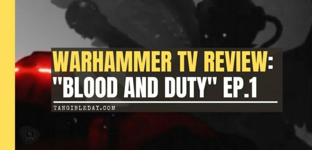 "Warhammer+ Review: ""Angels of Death"" Episode 1 - Warhammer TV review - banner"