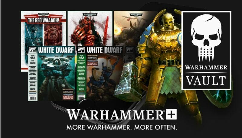 Warhammer+ Review - Is warhammer+ worth it? - Warhammer plus review - warhammer+ subscription service review - warhammer vault