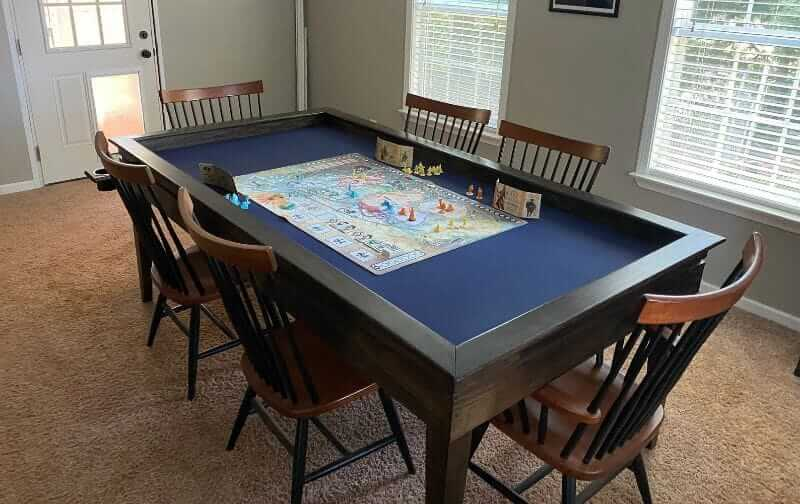 10 Great Wargaming Tables for RPGs and Tabletop Games - best game tables for RPGs - best wargaming table for warhammer - board game dinning room tabletop