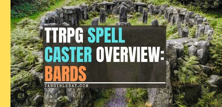 Spell Casters with Attitude: Bards - banner
