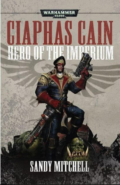 """Angels of Death Warhammer TV Review (Episode 3: """"Trail of Blood"""") - ciaphas cain book cover"""